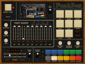 Screenshot of FunkBox running on iPad